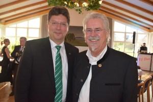 Mit Wirtschaftsminister Reinhard Meyer - DEHOGA Landesverbandstag