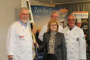 140 Jahre Wirte-Verein Flensburg mt Stadtpräsidentin Swetlana Krätzschmar