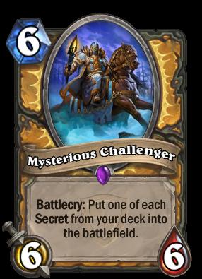 Resultado de imagen de mysterious challenger