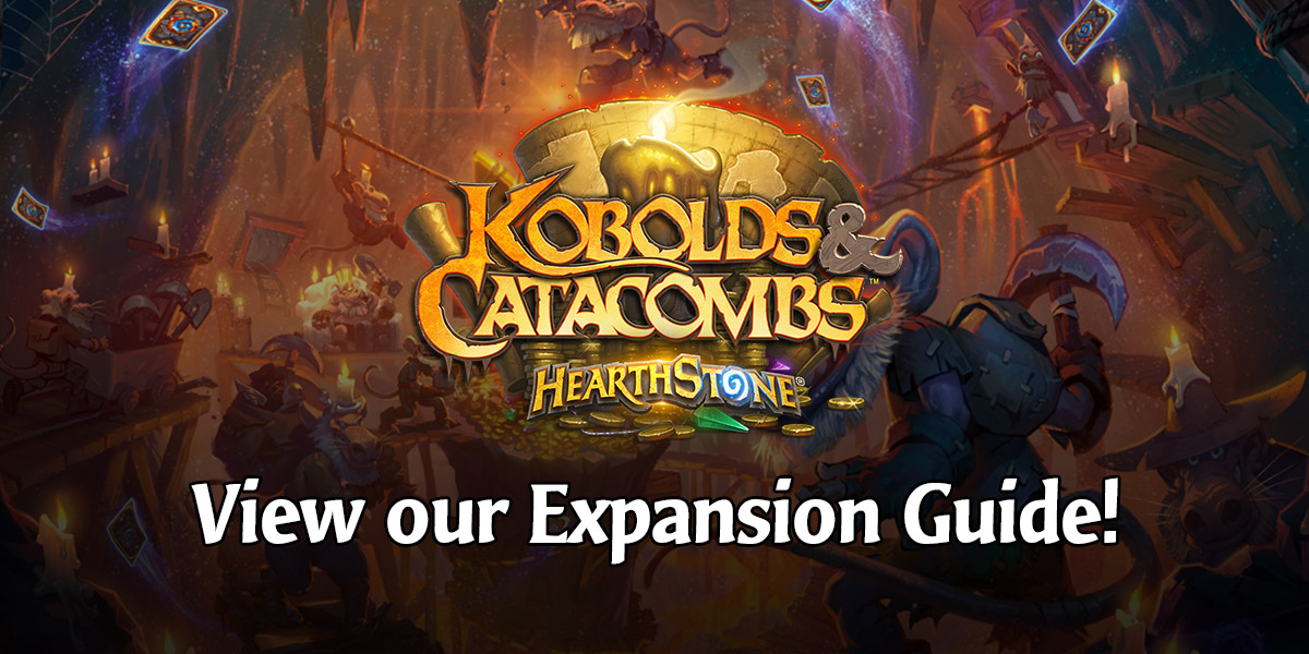 Kobolds Amp Catacombs Hearthstones Seventh Expansion Guides HearthPwn