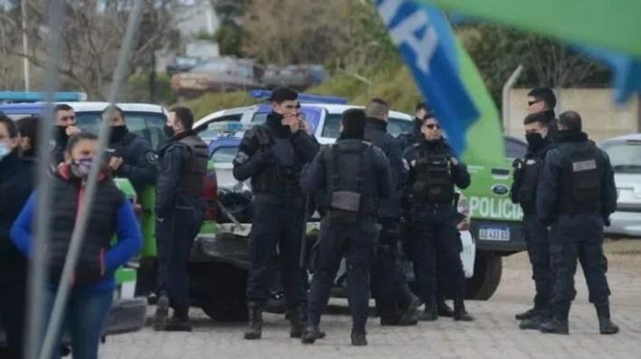 Móvil LA CIELO desde el Comando de Patrullas de La Plata.