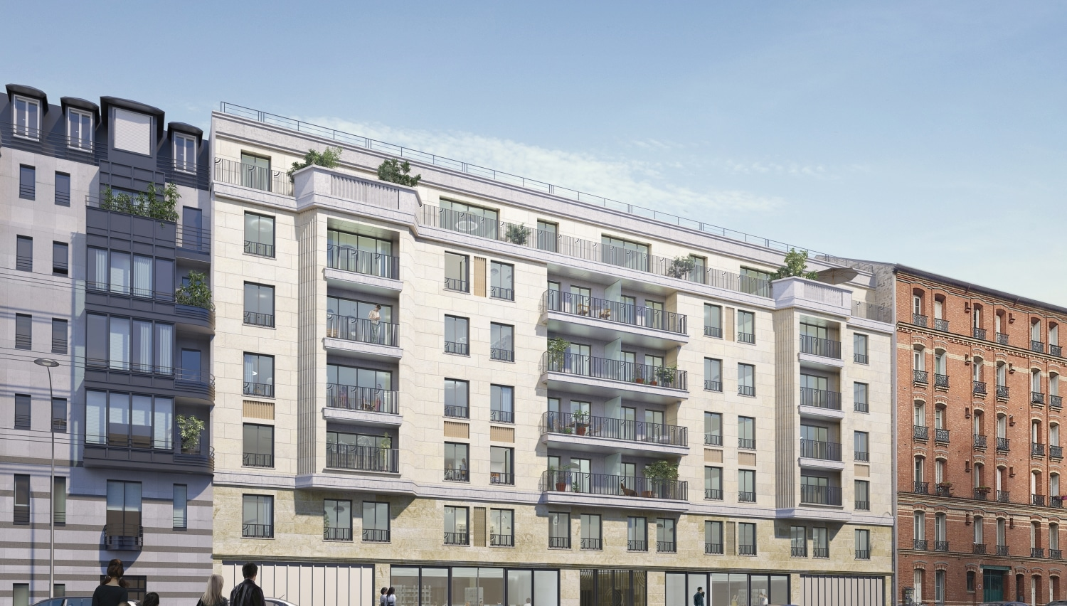 Programme Immobilier Neuf Appartement Clichy Carre