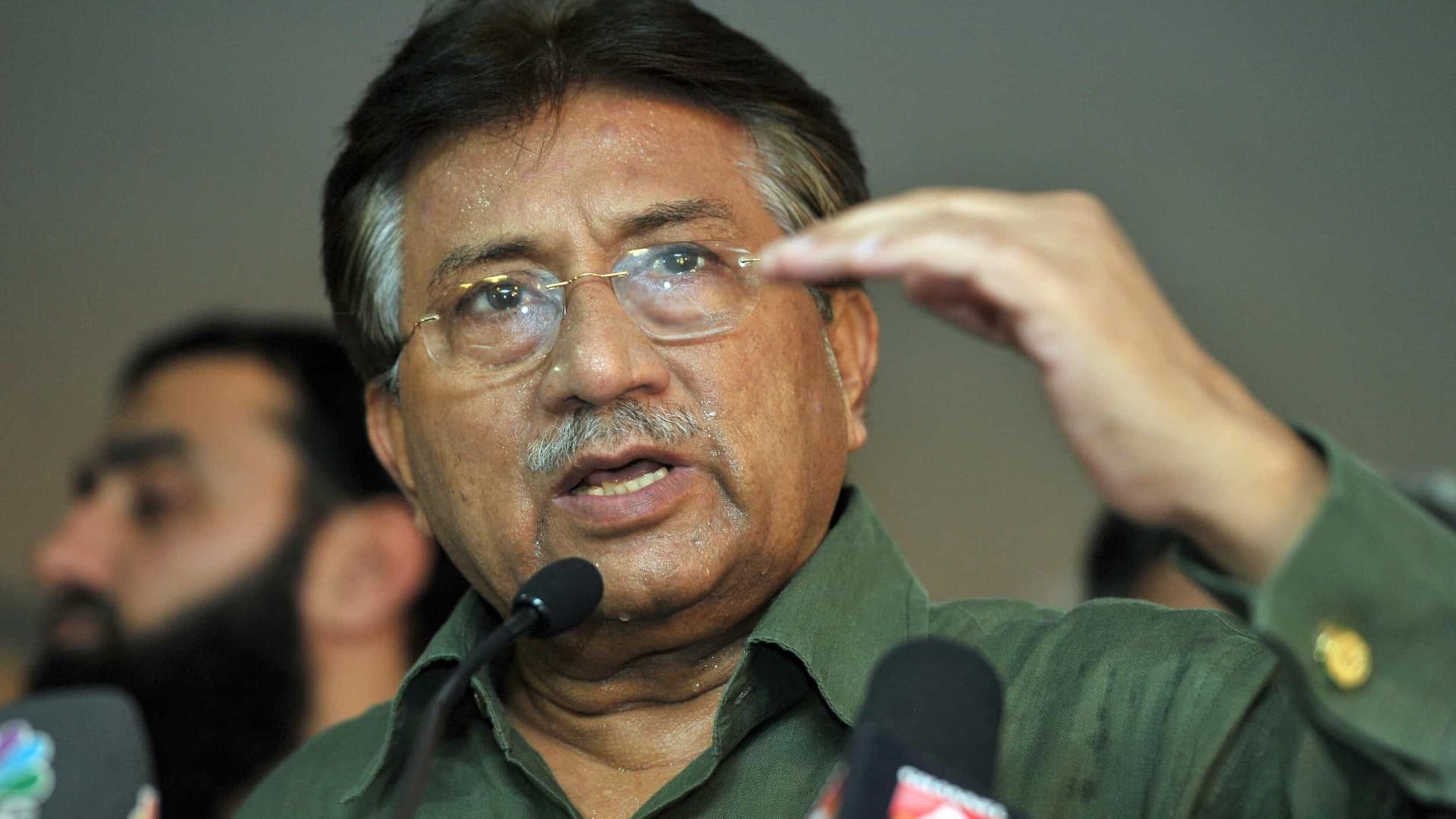 Ex-presidente do Paquistão é condenado à morte