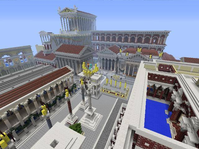 Paintedweasels Roman City Of Asisium For Minecraft 360
