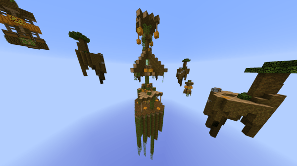 Sky Wars: BowSlinger Pvp Server Map - Maps - Mapping and ...