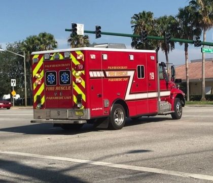 Palm Beach County was forced to write off $11.9 million in unpaidFire-Rescuedebt. (Photo/YouTube)