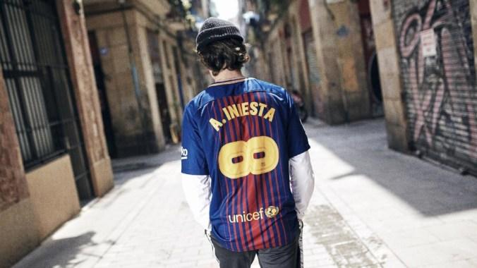 Camiseta Iniesta