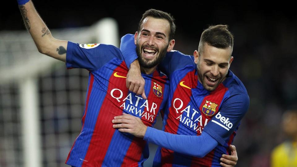 FC Barcelona Players Send Messages Of Support For Aleix Vidal FC Barcelona
