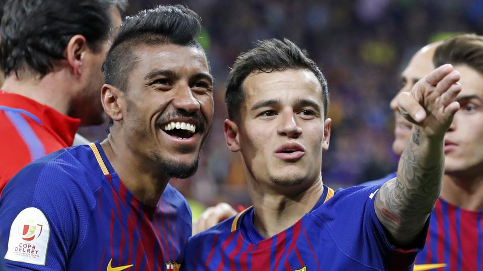Image result for Paulinho and coutinho