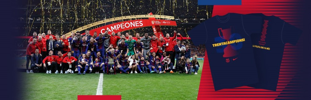 Camiseta Copa Rey FC Barcelona