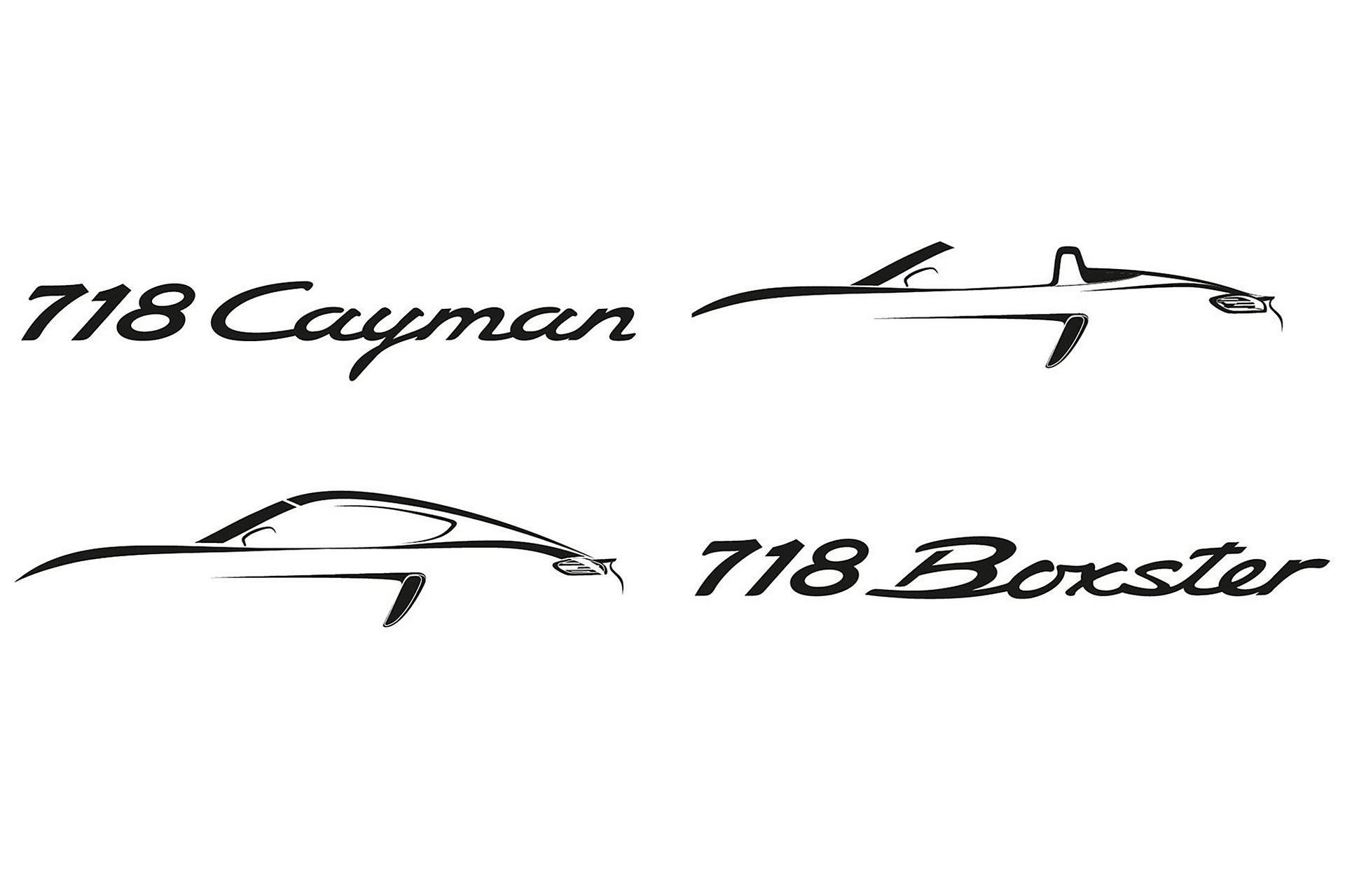 Porsche 718 Boxster E 718 Cayman