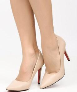 Pantofi stiletto Penza B Bej