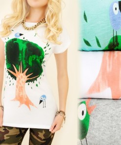 Tricou dama Singing Tree
