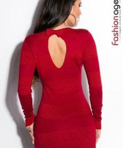 Rochie Tricotata Dimmie Red