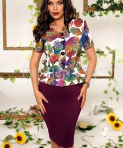Compleu elegant Marisa multicolor