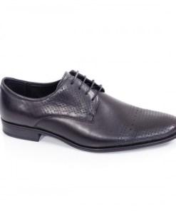 Pantofi barbati Piele Jonatan black eleganti