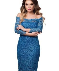 Rochie Zaira Albastră