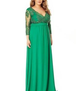 Rochie Plus Size Dian Verde