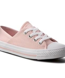 Tenisi CONVERSE - Ctas Coral Ix 555895C Vapor Pink/Vapor Pink/White