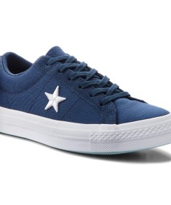 Tenisi CONVERSE - One Star Ox 160598C Navy/White/Ocean Bliss