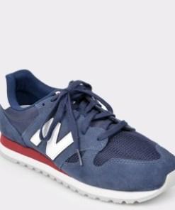 Pantofi sport NEW BALANCE bleumarin, U520, din material textil