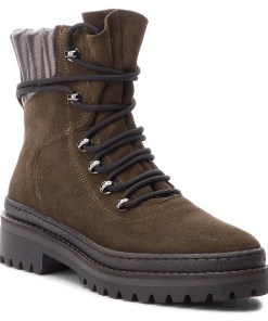 Trappers TOMMY HILFIGER - Modern Hiking Boot S FW0FW03048 Musk 203