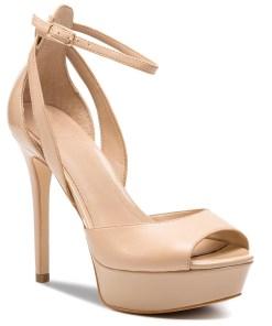 Sandale GUESS - Laurele FL6LRE LEA03 NATU