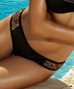 Slip costum de baie Miami Black