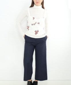 Pantaloni zara classic bleumarinei