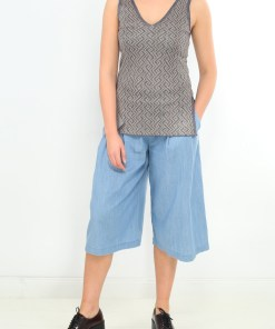 Pantaloni z light bluei alize