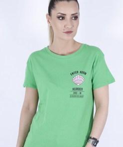 Tricou bershka verde enter roomi