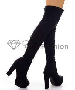 Cizme Long Black #5542