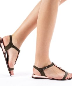 Sandale dama Lowe khaki