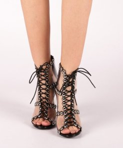 Sandale dama Valerie negre