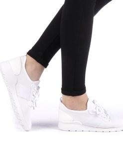 Pantofi sport dama Wimia albi