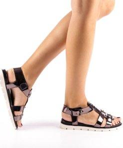 Sandale dama Juliet negre