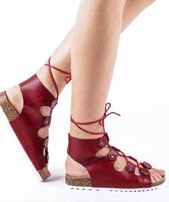 Sandale dama Makeena rosii