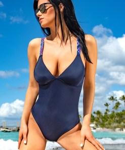 Costum de baie intreg Kamala Blue