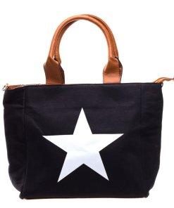 Geanta dama Star 2 neagra
