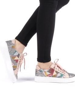 Pantofi sport dama Jalima roz