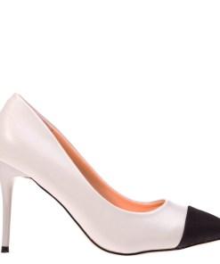 Pantofi cu toc Claudia gri