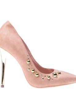 Pantofi stiletto Angelina bej