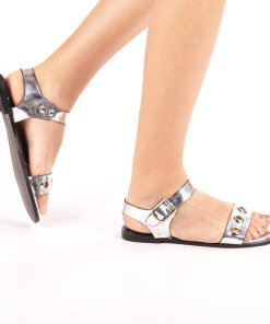 Sandale dama Cani argintii