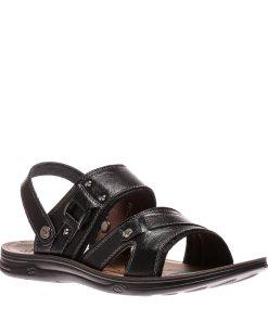 Sandale barbati Apolo negre