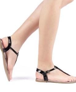 Sandale dama Lilly negre