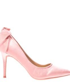 Pantofi cu toc Karina roz