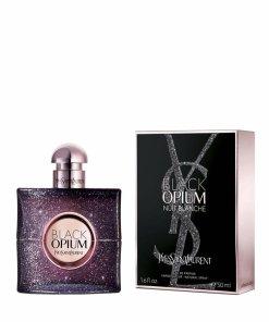 Apa de parfum Black Opium Nuit Blanche, 50 ml, Pentru Femei
