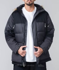 The North Face Vostok Parka Snow Jacket Black