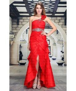 Rochie superba de seara, de culoare rosie