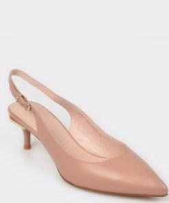 Pantofi EPICA nude, L824Ks6, din piele naturala